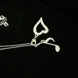 Jewelry - Paula Abdul Necklace with 2 charms